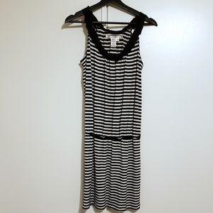 Max Studio Sleeveless Striped Dress